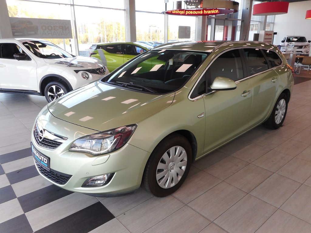 Opel Astra 2,0CDTi 118kW AT, po rozvodech