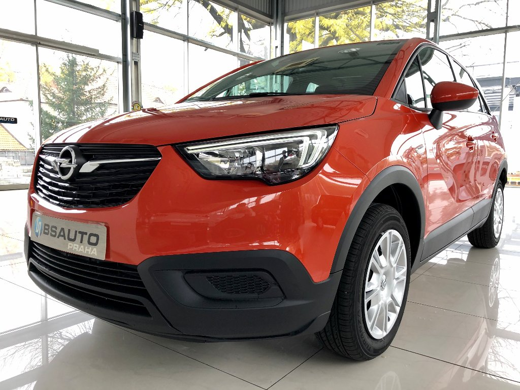 Opel Crossland X Smile 1,2 Turbo 110 koní MT6