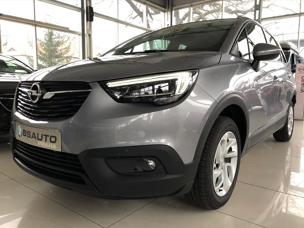 Opel Crossland X Smile 1,2 Turbo +ZP zdarma