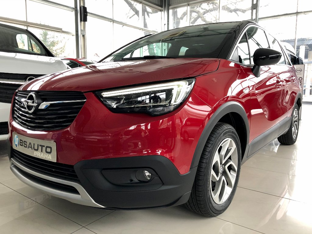 Opel Crossland X Innovation 1,2 60KW +ZP zdarma