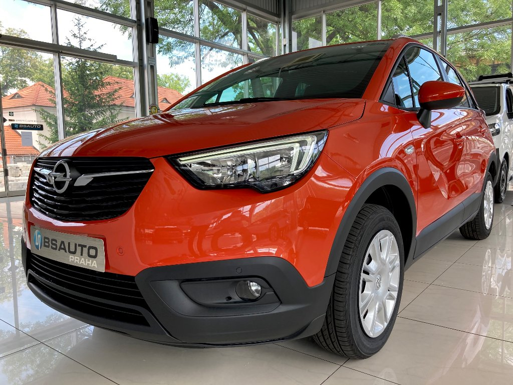 Opel Crossland X Smile 1,2Turbo + ZP zdarma
