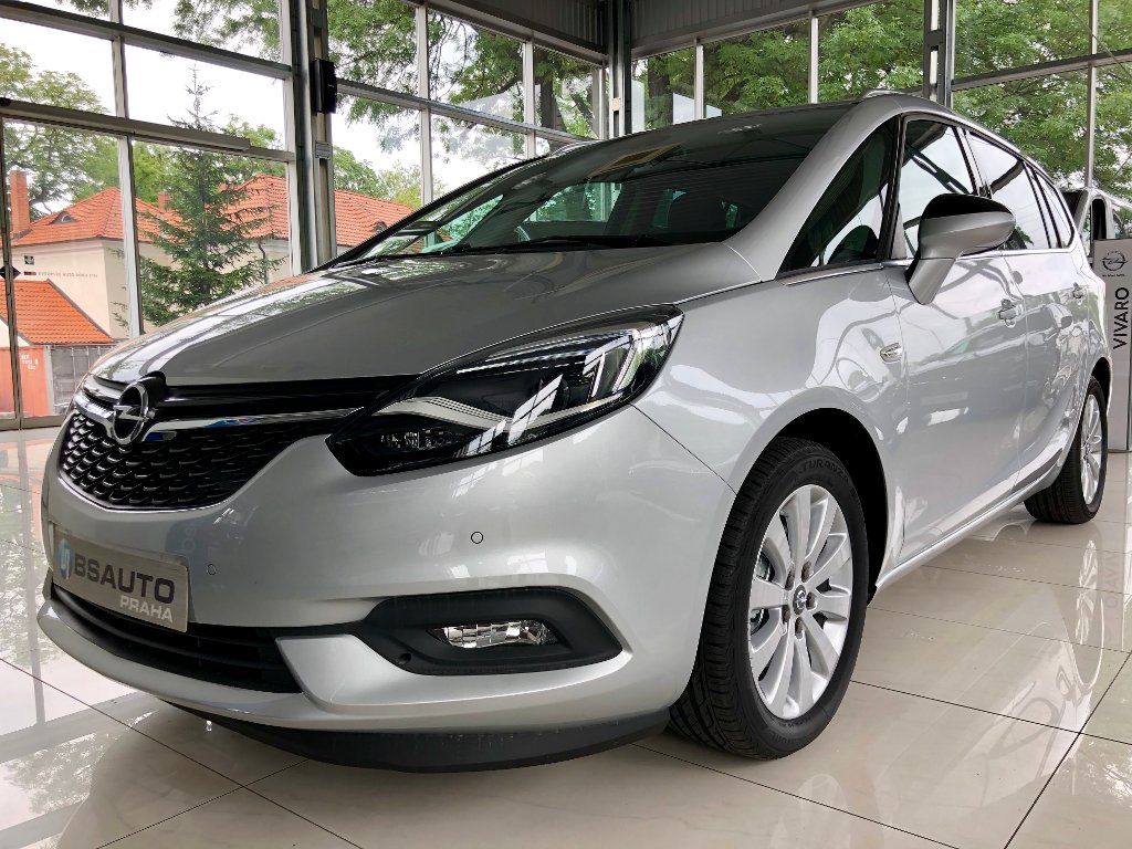 "Opel Zafira ""Plus"" 1,6 Turbo 136 koní MT6"